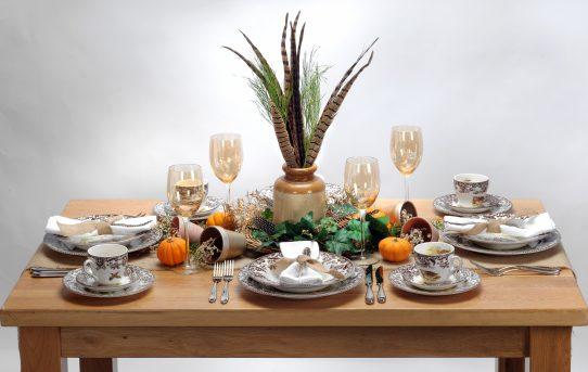 The Pumpkin Patch Table – Halloween Table Ideas