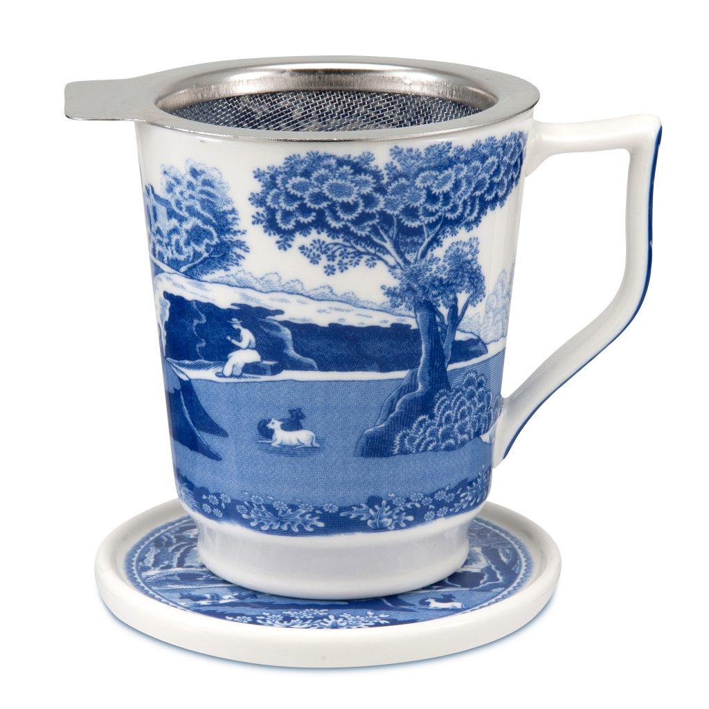 Spode Blue Italian Tisaniere - Father's Day Gift Ideas