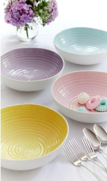 Sophie Conran for Portmeirion Colour Pop - assorted pasta bowls.