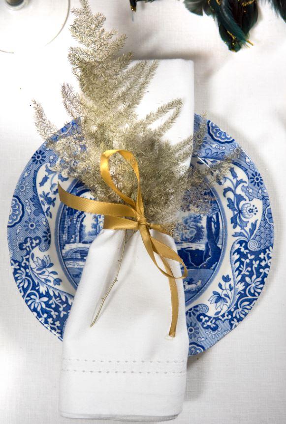 Spode Blue Italian - Christmas Decorations, Christmas Gifts, Christmas dinner plates.