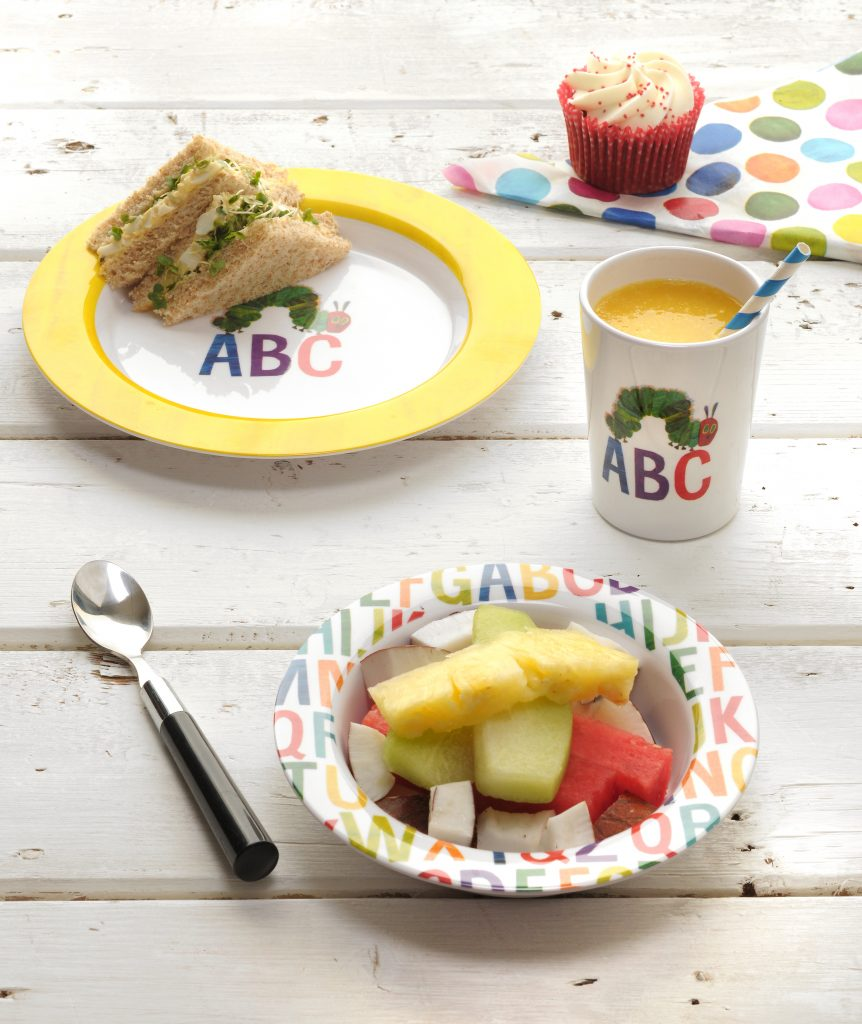 Very Hungry Caterpillar Mug, Plate & Bowl Set