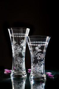 Botanic Garden Crystal Vase