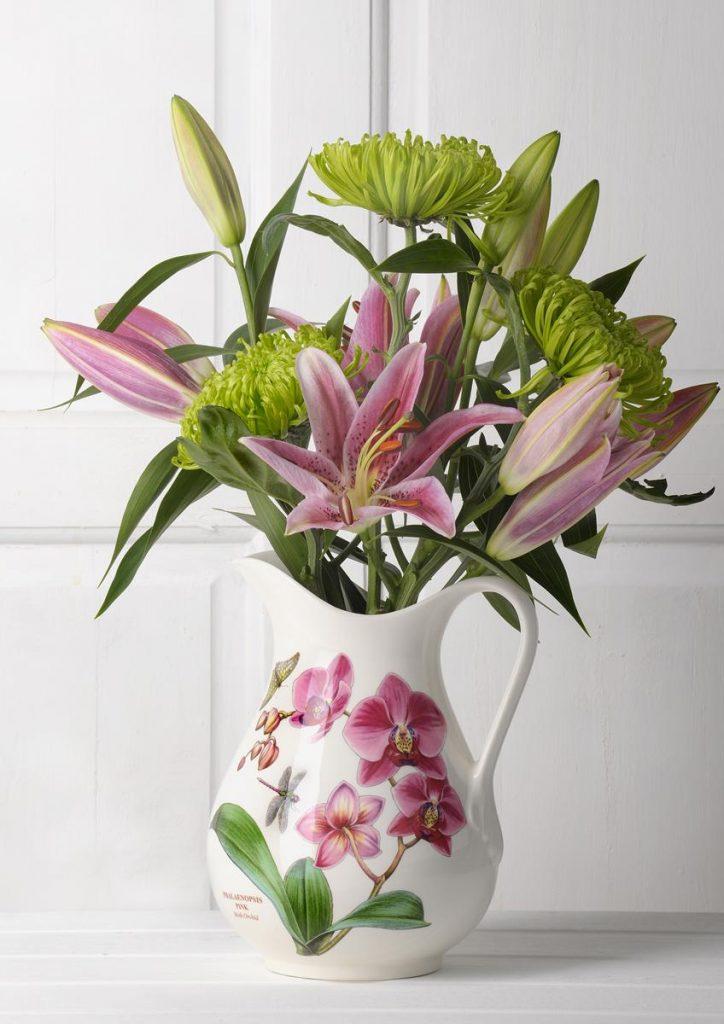 EXOTIC BOTANIC GARDEN FLOWER VASE PORTMEIRION